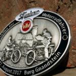 Oldtimerplakette Motorrad