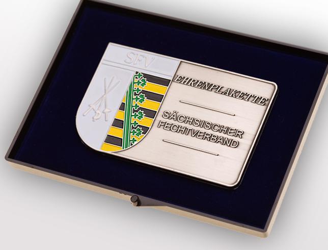Ehrenplakette für Vereine mehrfarbig