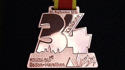 Medaille Kupfer glänzend