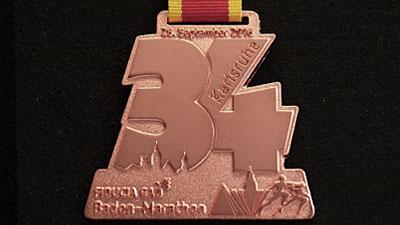 Medaille Kupfer matt