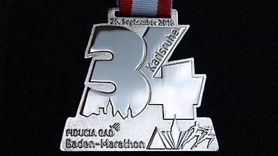 Medaille Silber glänzend