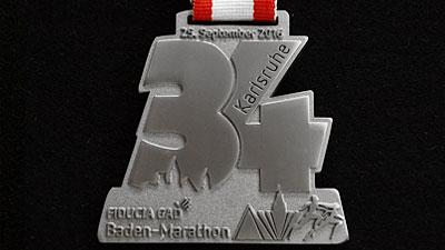 Medaille Silber matt