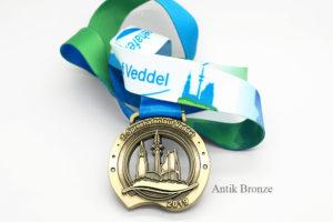 geprägte Medaille mit 3D Effekt