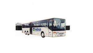 Krawattennadel Gelenkbus