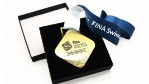 Sportmedaille Schwimmen