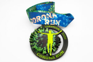 Virtuell Run Medaille Corona