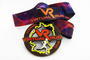 Sportmedaille Virtuell Run